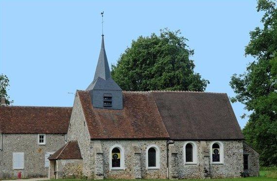 Rozoy-Bellevalle (Aisne) l'église Saint-Thibaud