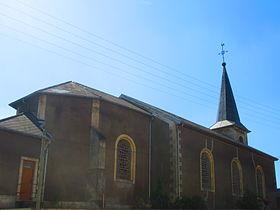 Russange (Moselle) L'église Saint Luc