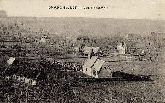 Saâne-Saint-Just (Seine Maritime) Eglise Saint-Just CPA