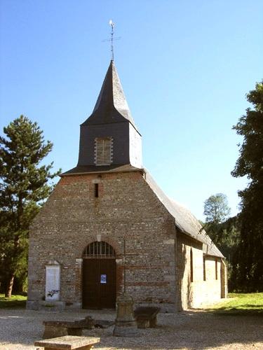 Saâne-Saint-Just (Seine Maritime) Eglise Saint-Just