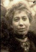 Saillard Augustine Isabelle (1880/1964), épouse Ernest Soudan,  en 1918