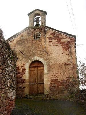Saint-Affrique (Aveyron) Bournac, la chapelle Saint Géraud