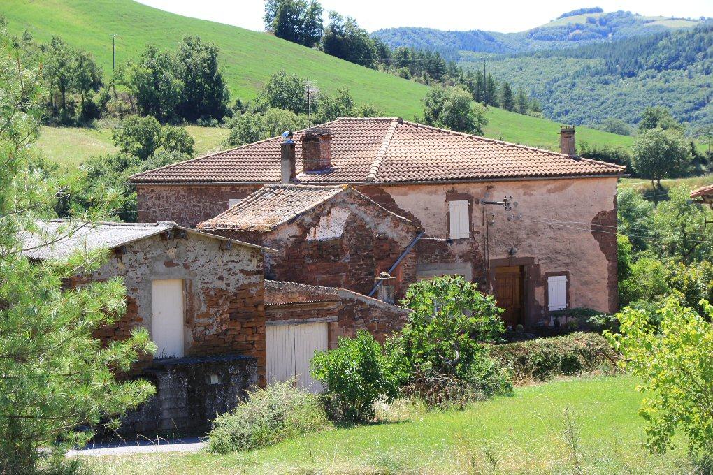 Saint-Affrique (Aveyron) Bournac, le château