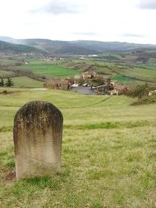 Saint-Affrique (Aveyron) Bournac, le dolmen