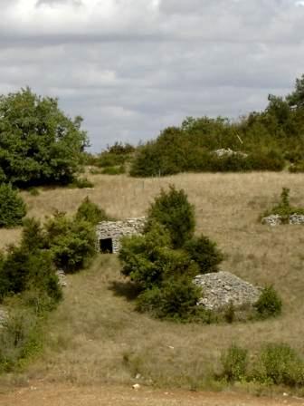 Saint-Affrique (Aveyron) Boussac, une cazelle