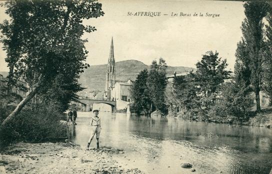 Saint-Affrique (Aveyron) CPA la Sorgues