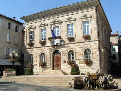 Saint-Affrique (Aveyron) l'Hôtel de Ville