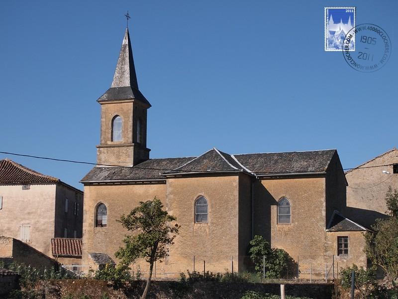 Saint-Affrique (Aveyron) Tiergues, l'église