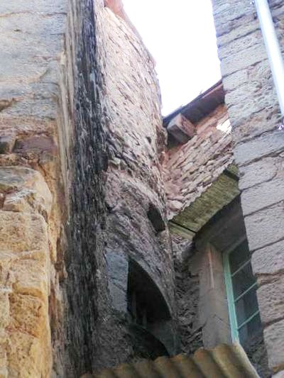 Saint-Affrique (Aveyron) une ancienne tour