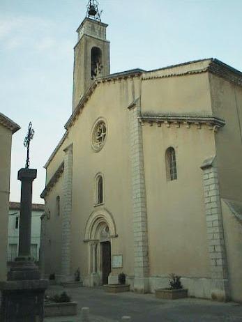 Saint-Bauzille-de-Putois (Hérault) L'église Saint-Baudile