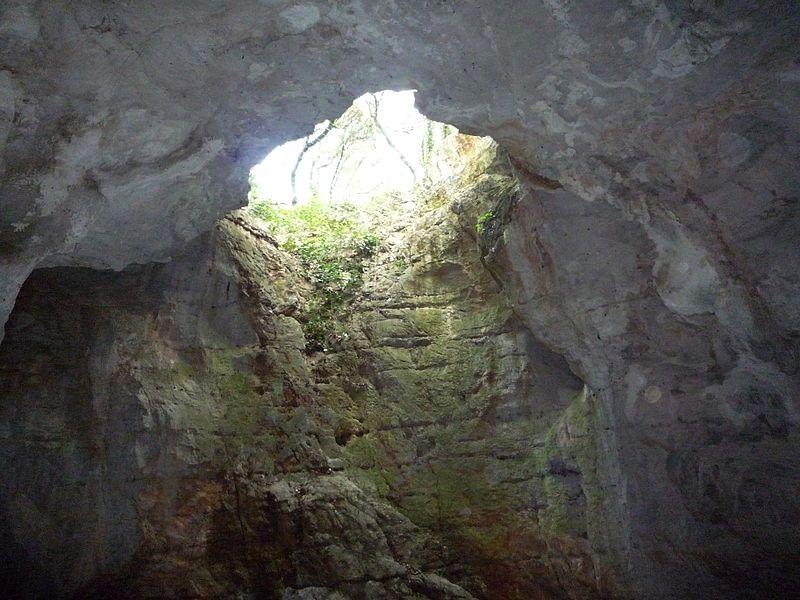 Saint-Bauzille-de-Putois (Hérault) La grotte des Demoiselles