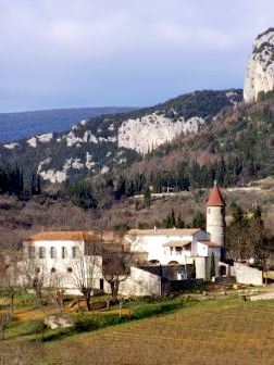 Saint-Bauzille-de-Putois (Hérault) Sauzet, le château