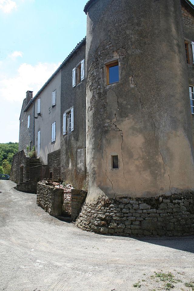 Saint-Beaulize (Aveyron) Le château