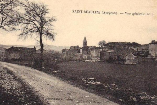 Saint-Beaulize (Aveyron) CPA