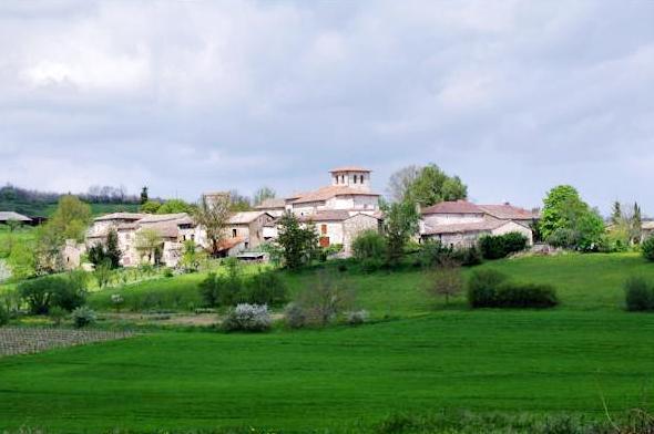 Saint-Beauzile (Tarn) Vue générale
