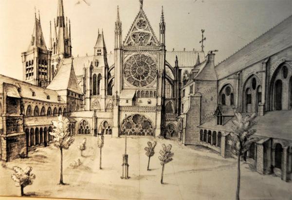 La basilique autrefois