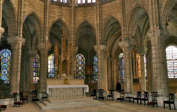 Le chevet de la basilique