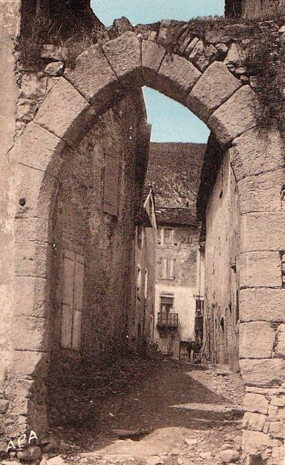 Saint-Félix-de-Sorgues (Aveyron) CPA