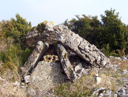 Saint-Félix-de-Sorgues (Aveyron) Mascourbe, le grand dolmen