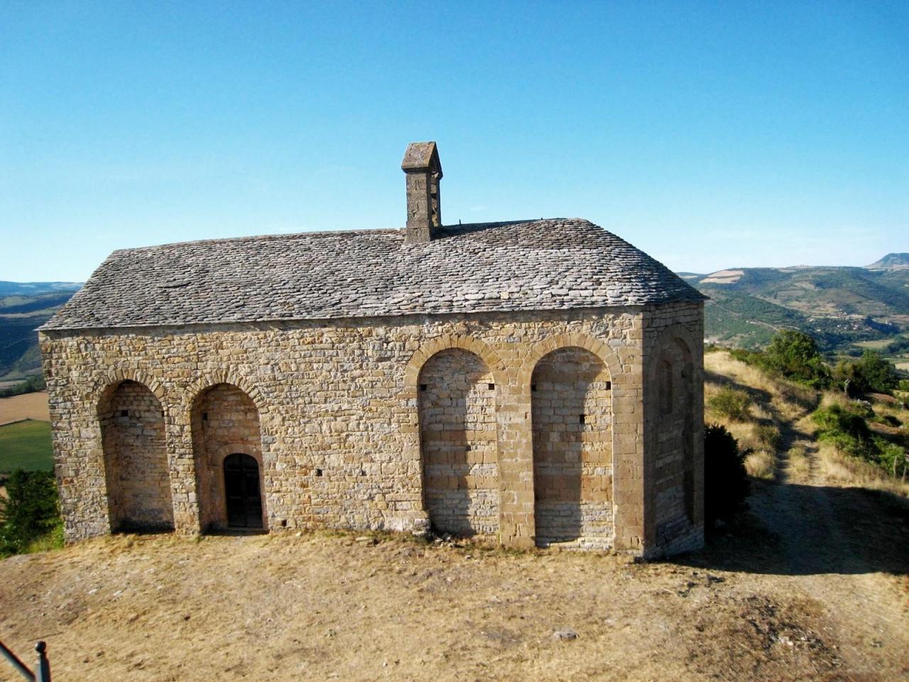 Saint-Georges-de-Luzençon (Aveyron) Luzençon, la chapelle St Martial