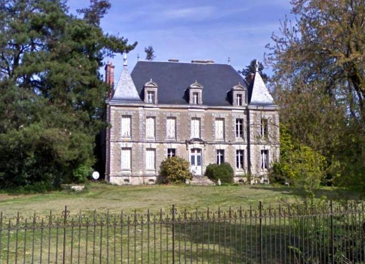 Saint-Gervais (Vendée) Le château du Platane