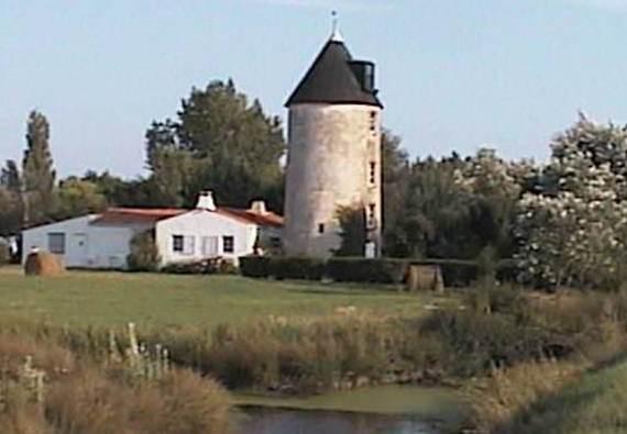 Saint-Gervais (Vendée) Le moulin de la Rive
