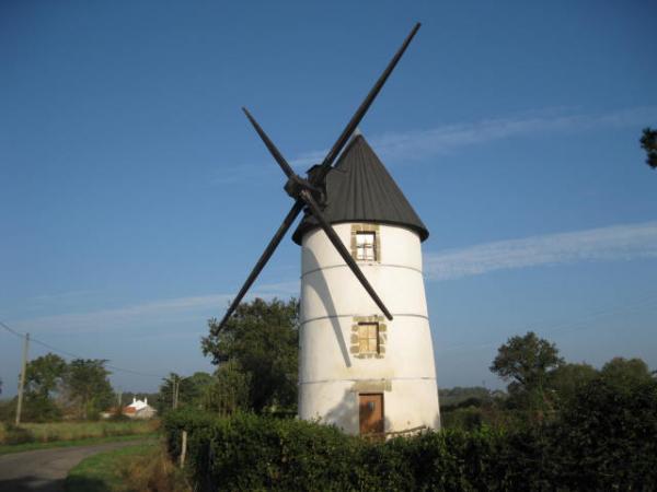 Saint-Gervais (Vendée) Le moulin du Chatenay