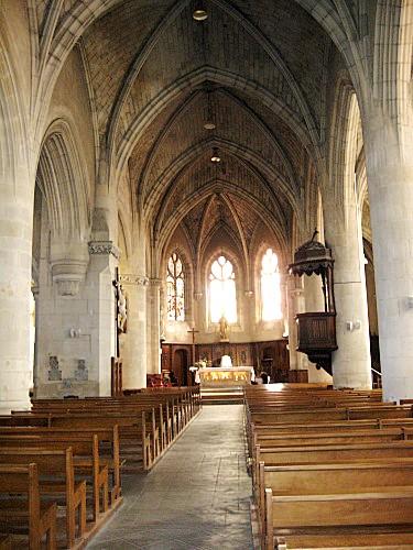 Saint-Gilles-Croix-de-Vie (Vendée) L'église Saint Gilles