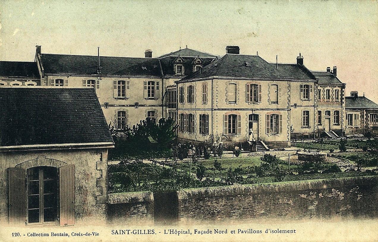 Saint-Gilles-Croix-de-Vie (Vendée) L'hôpital CPA
