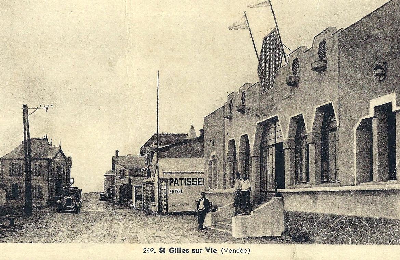 Saint-Gilles-Croix-de-Vie (Vendée) Le Casino CPA