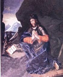 Saint Guilhem, tableau du XVIIIème siècle