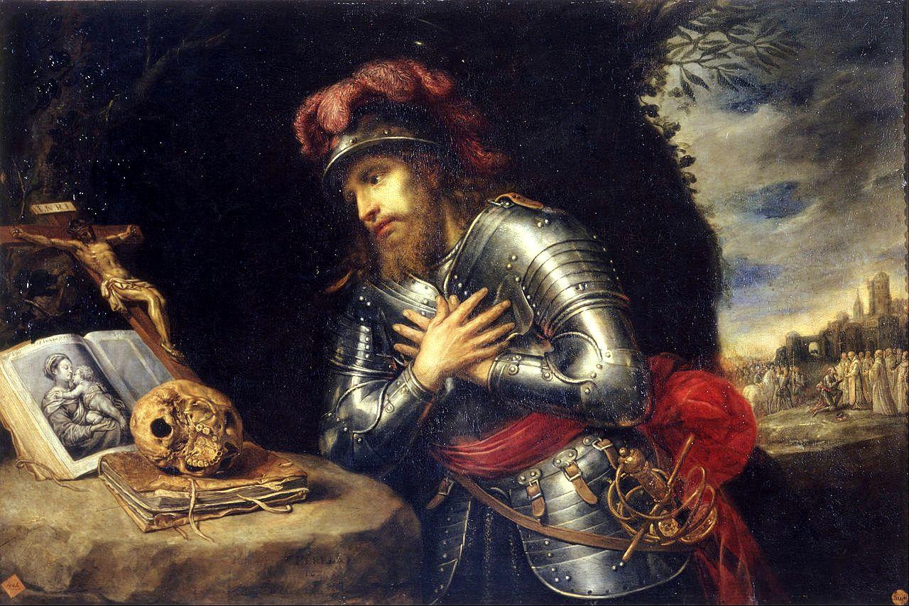 Guillaume de Gellone, par Antonio de Pereda vers 1630