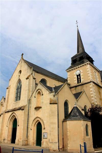 Saint-Hilaire-de-Riez (Vendée) L'église