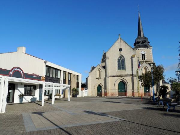 Saint-Hilaire-de-Riez (Vendée) La place de la mairie