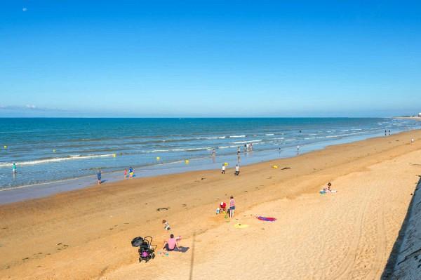 Saint-Hilaire-de-Riez (Vendée) La plage des Demoiselles