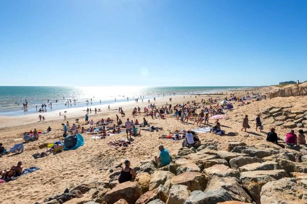Saint-Hilaire-de-Riez (Vendée) La plage des Mouettes