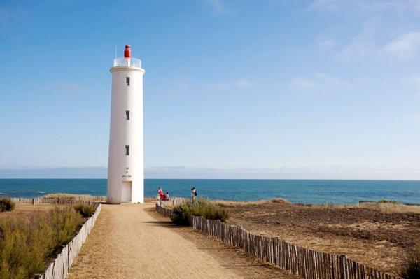 Saint-Hilaire-de-Riez (Vendée) Le phare