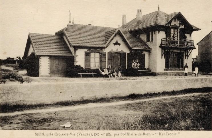 Saint-Hilaire-de-Riez (Vendée) Sion-sur-l'Océan CPA