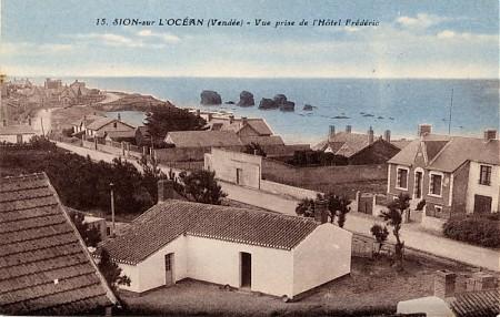 Saint-Hilaire-de-Riez (Vendée) Sion-sur-l'Océan, Les 5 Pineaux CPA