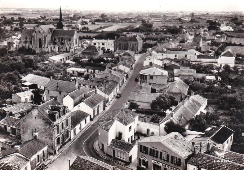 Saint-Hilaire-de-Riez (Vendée) Vue générale CPA
