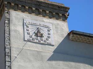 Saint-Hippolyte-du-Fort (Gard) Un cadran solaire