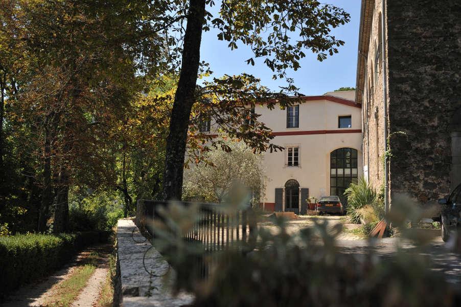 Saint-Hippolyte-du-Fort (Gard) Le château de Figaret