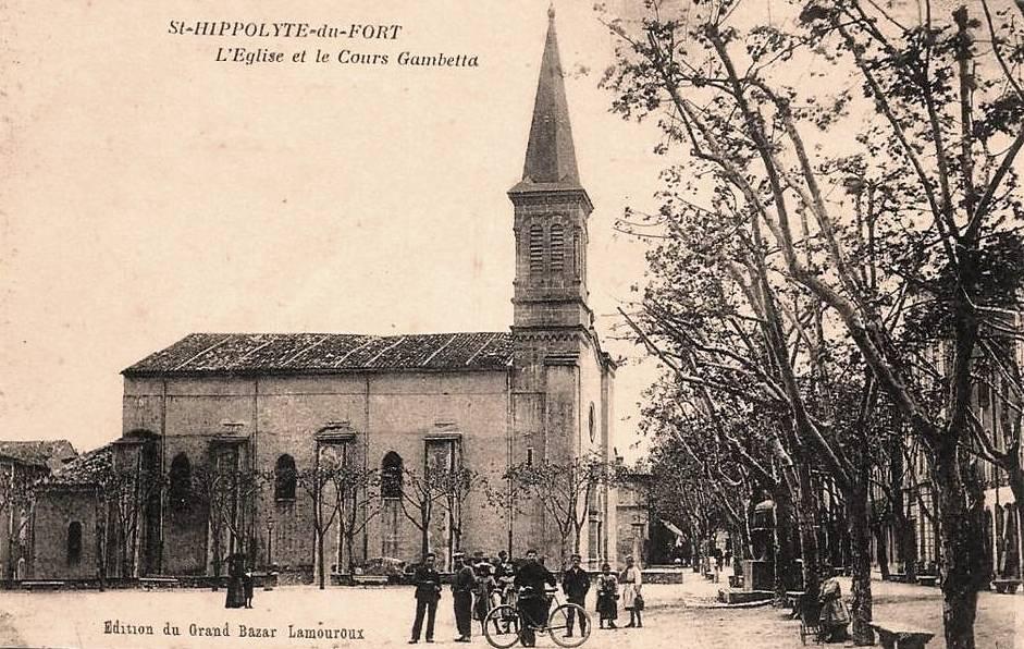 Saint-Hippolyte-du-Fort (Gard) CPA L'église