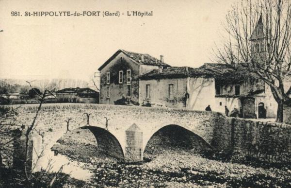 Saint-Hippolyte-du-Fort (Gard) CPA L'hôpital