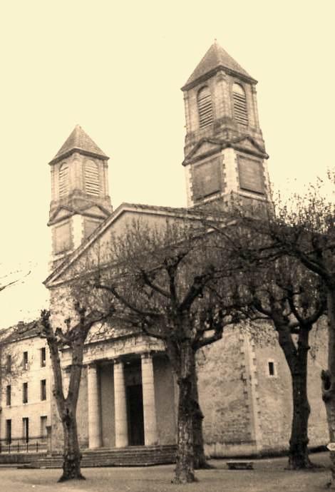 Saint-Hippolyte-du-Fort (Gard) CPA Le temple