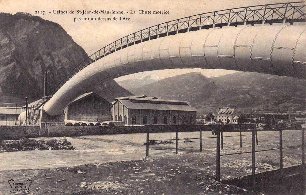 Saint-Jean-de-Maurienne (Savoie) L'Usine CPA
