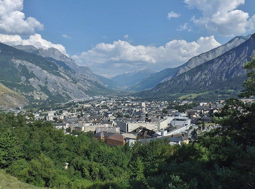 Saint-Jean-de-Maurienne (Savoie) Vue générale