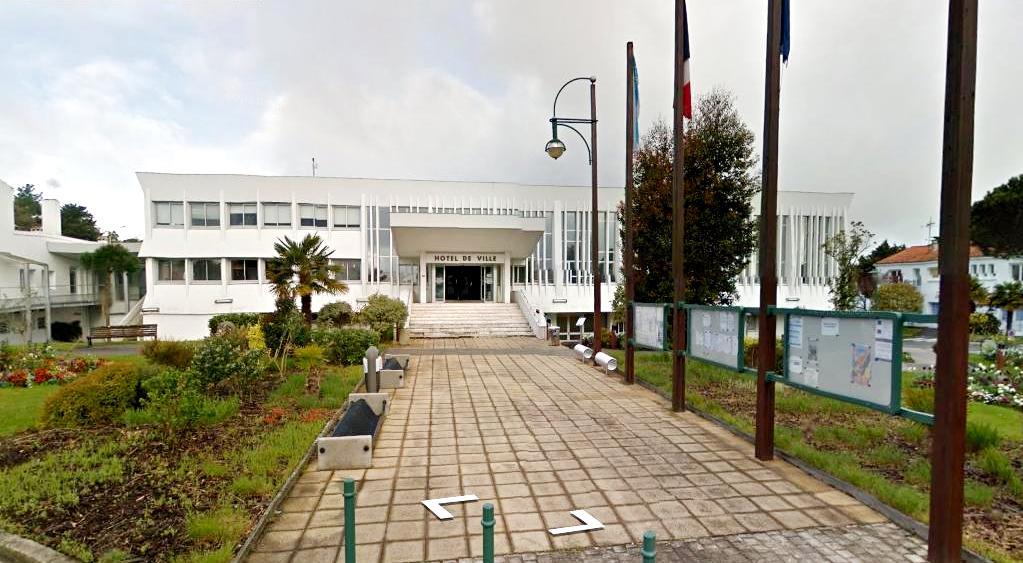 Saint-Jean-de-Monts (Vendée) La Mairie