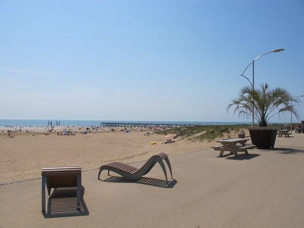 Saint-Jean-de-Monts (Vendée) La plage de l'Estacade