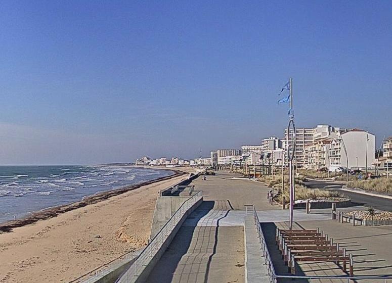 Saint-Jean-de-Monts (Vendée) Le front de mer